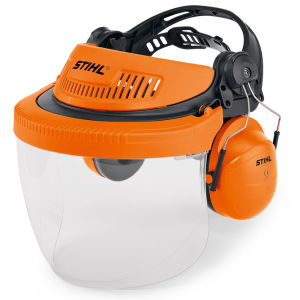 Stihl G500 PC Face & Ear Defenders with Polycarbonate Visor
