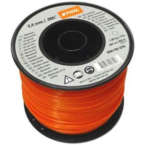 Stihl Bulk Strimmer Line - Orange - 2.4mm x 253m