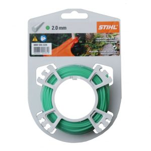 Stihl Carded Strimmer Line - Green - 2.0mm x 15.3m