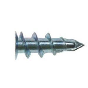 Metal Plasterboard Fixing With Screw 15mm x 25mm (Box Of 100)