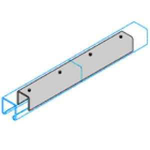 P1218 Internal Splicer For 41 x 41mm Channel