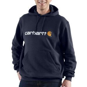 Carhartt Signature Logo Sweatshirt - Navy - Medium