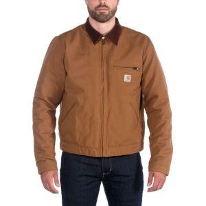 Carhartt Duck Detroit Jacket - Brown - Large