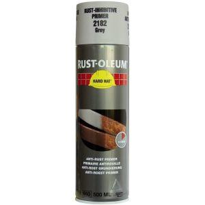Rust-Oleum 2182 Grey Primer Spray Paint - 500ml