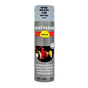 Rust-Oleum 2184 Steel Grey Spray Paint - 500ml