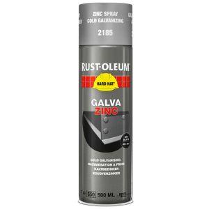 Rust-Oleum 2185 Cold Galvanised Spray Paint - 500ml