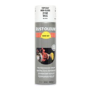 Rust-Oleum 2192 White Gloss Spray Paint - 500ml