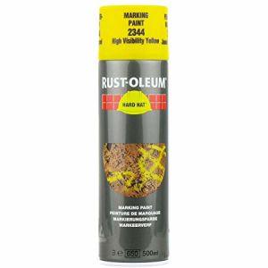 Rust-Oleum 2344 High-Vis Yellow Spray Paint - 500ml