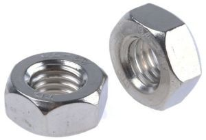 M5 A2 Stainless Steel Hex Nuts (Sold Individually)