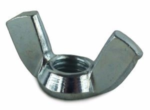 4mm Steel Wingnuts BZP (Sold Individually)