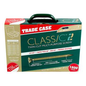 C2 Multi-Purpose Advanced Screws - Assorted Trade Case - 1,800 pcs