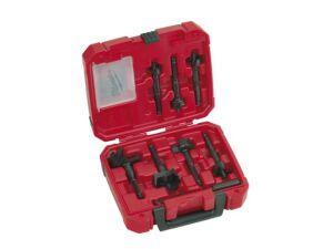 Milwaukee 49220130 Contractors 7 Piece Selfeed Drill Bit Set (25 - 65mm)
