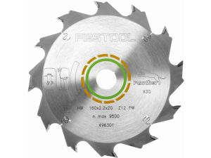 Festool Panther Saw Blade 160 x 2.2 x 20 12T