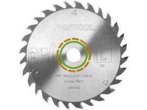 Festool Universal Saw Blade 160 x 2.2 x 20 28T