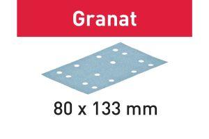 Festool Abrasive Sheet STF 80 x 133 P80 GR/50 Granat