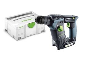 Festool BHC 18 Li-Basic 18V Li-ion SDS Plus Cordless Hammer Drill in Systainer - Bare Unit