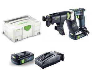 Festool DWC18-2500 Li 3.1 Compact 18V Cordless Construction Screwdriver Kit in Systainer
