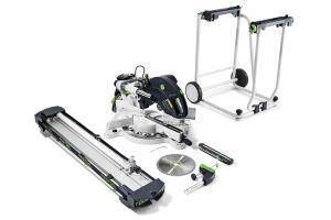 Festool 575316 Sliding Compound Mitre Saw KAPEX KS 120 Set-UG 110V