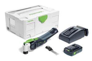 Festool 575386 Cordless Oscillator OSC 18 Li 3.1 E-Compact Vecturo 18V