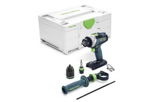 Festool 575601 18V Cordless Drill Quadrive TDC 18/4 I-Basic