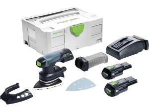 Festool 575705 DTSC 400 Li 3.1 I-Set 18V Cordless Delta Sander