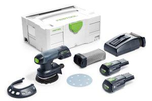 Festool 575713 Cordless 18V Eccentric Sander ETSC 125 Li 3.1 I-Plus