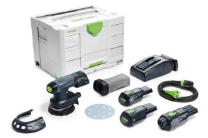 Festool 575714 Cordless 18V Eccentric Sander ETSC 125 Li 3.1 I-Set