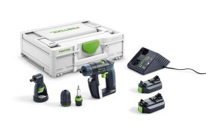 Festool 576094 Cordless Drill CXS 2.6-Set 10.8V inc 2 x Batteries & Systainer