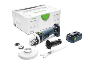 Festool 577031 18V Cordless Angle Grinder AGC 18-125 EB-Basic + FOC 5.2Ah Battery