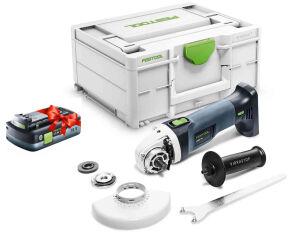 Festool 577031 18V Cordless Angle Grinder AGC 18-125 EB-Basic + FOC 4.0Ah Battery
