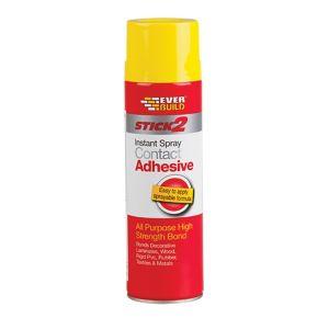 Spray Contact Adhesive - Aerosol - 500ml