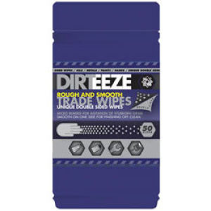 Dirteeze Trade Wipes Micro Beaded (80 Wipes)