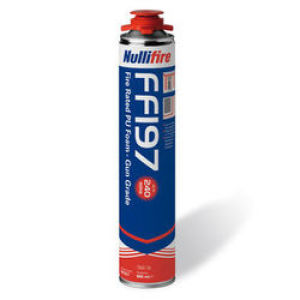 Gun Applied Nullifire Fire Rated Pu Foam  750ml FF197