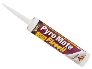 Pyromate Fire Retardant White Silicone 310ml