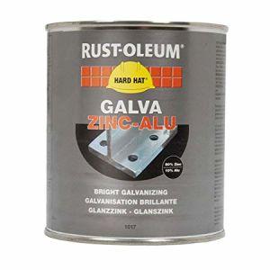 Rust-Oleum 1017 Bright Galvanising Paint - 1Kg