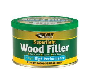 Everbuild 2 Part High Performance Wood Filler - Super Light - 370g