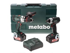 Metabo LTX 2 Twin Kit - SB18LTX & SSD18LT + 2 x 4.0Ah Batteries & Charger