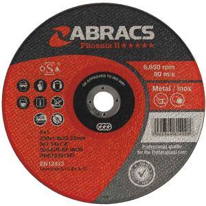 "115 (4.5"") x 1 x 22.2mm Bore Inox Special Cutting Disc"