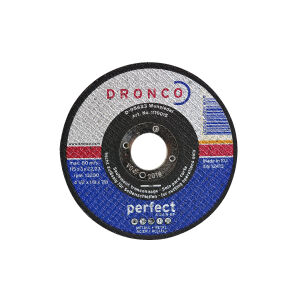 "115 (4.5"") x 3 x 22.2mm Bore Metal Cut Off Abrasive Wheel"
