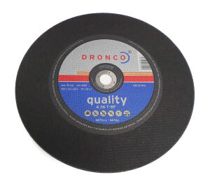 "350 (14"") x 3 x 25.4mm Bore Metal Cut Off Abrasive Wheel"