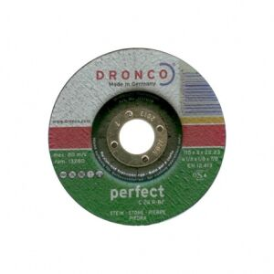 "115 (4.5"") x 3 x 22.2mm Bore Stone Cut Off Abrasive Wheel"