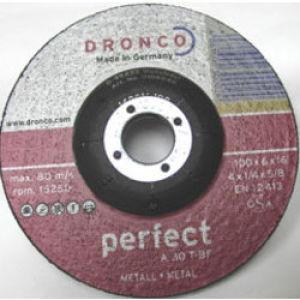 "115 Stone Grinding DPC Abrasive Wheel 4.5"" x 1/4"