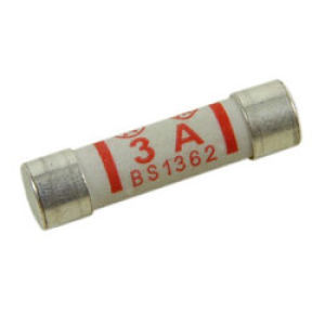 25mm 3A Fuse (Pack Of 10)