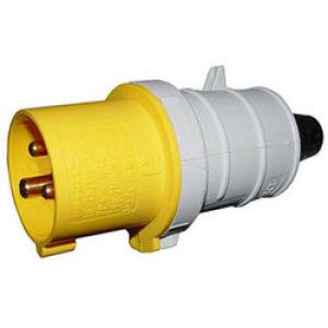 BS4343 110V Plug Yellow