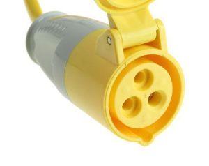BS4343 16A 110V Trailing Socket