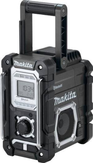 Makita DMR108B 7.2V - 18V Black Job Site Radio With Bluetooth