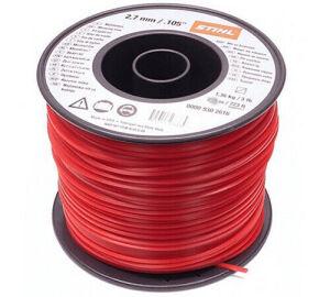 Stihl Bulk Strimmer Line - Red - 2.7mm x 208m