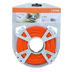 Stihl Carded Strimmer Line - Orange - 2.4mm x 83m