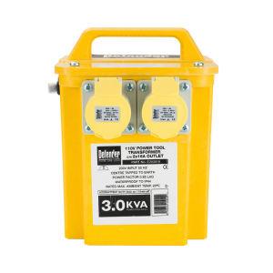 3Kva Portable Transformer - 2 Sockets