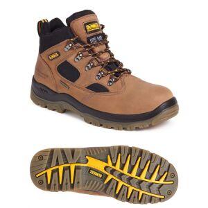 DeWalt Safety Sympatex Challenger Boots - Brown - Size 9